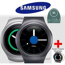 Genuine Samsung Gear S2 3G SM-R730S Smart Watch w/ free 2 screen guards,Free UPS