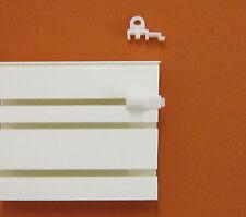 8 Endfeststeller 4mm Feststeller Gardinen Stopper Gardinenschiene Deckenschiene
