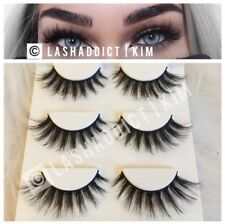 027d1f9c642 3 Pairs Mink Lashes Eyelashes WSP Luxy Makeup New Fur 3D Style US SELLER