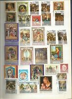 Religion  Pascua Lot Briefmarken Stamps Sellos Timbres