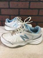 NEW BALANCE 409 (WX409WB) Women's Cross Trainers/Running   White/Blue Sz 10D