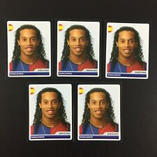 Ronaldinho Rookie 5 Sticker Panini Champions League 2006 2007 #18 / FC Barcelona