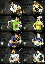 2017 NRL TRADERS 2016 SEASON TO REMEMBER - FULL SET OF 32 CARDS - SR1 to SR32