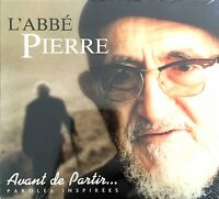 L'Abbé Pierre CD Avant De Partir... - France (M/M - Scellé / Sealed)