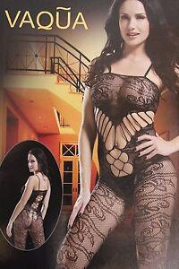 Women Sexy Lingerie Black Lace Underwear Body stockings Sleepwear UK seller