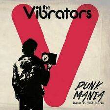 "THE VIBRATORS ""Punk Mania"" British Punk CLEOPATRA Limited Red Vinyl LP SEALED"