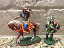 Toy Soldiers RARE 2 Metal 60mm Medieval Russians