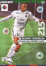 307 RONNY RODELIN FRANCE SM.CAEN MOUSCRON CARD UPDATE ADRENALYN 2016 PANINI