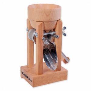 Eschenfelder Fields Grain Mill Flaker Tabletop Model & Wood Hopper