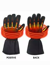 Rabbitroom Battery Powered Heated Gloves for Men and Women Waterproof Insulated