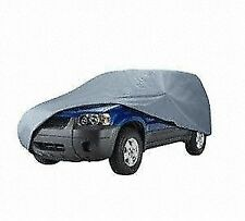 "Budge URB-1 Gray SUV 186"" Car Cover, Outdoor, Waterproof, Breathable"