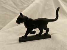 New ListingThe Franklin Mint Curio Cabinet Cats Boot Scraper Black Shadow 1988 Figurine