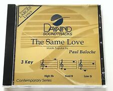 Daywind - Paul Baloche - The Same Love - accompaniment track christian cd - new