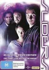 Sliders : Season 1-2 (DVD, 2013, 6-Disc Set)-REGION 4-Brand new-Free postage