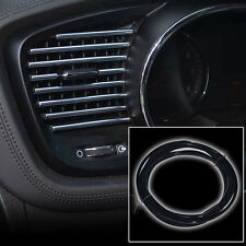 3M X 6MM BLACK U STYLE FLEX TRIM MOULDING FOR INTERIOR EDGE VENT GRILLE PANEL D