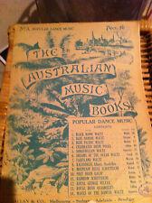 Collectors # 3 Popular Dance Music Allan The Australian Music Books Vintage RARE
