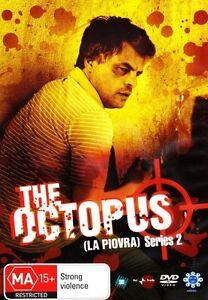 THE OCTOPUS (LA PIOVRA) - SERIES 2 (3 DVD SET) BRAND NEW!!! SEALED!!!