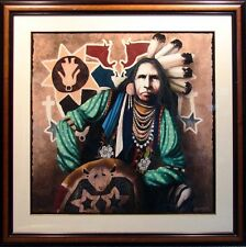 J.D. Challenger EXISTING IN HARMONY Hand Signed & Numbered Framed Serigraph Art