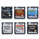 Pokemon 6 Versons For Nintendo DS & 3DS Lite 2DS/3DS&DSI/DS HeartGold Game Card