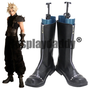 Final Fantasy VII 7 Remake AVALANCHE Cloud Strife Game Cosplay Shoes Boots