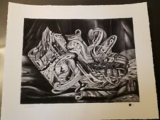 David Welker Lucky Numbers Limited Edition Print out of 100
