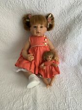 Lee Middleton Doll Rare ' Just Like Mommy' By Reva Redhead With Green Eyes