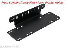Front Bumper License Plate Mount Bracket Holder For LED  Bar, Off-Road Light