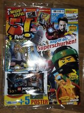 LEGO 5! FIVE Magazin April, LE18, limitierte Ninjago Trading Card, Masken Killow