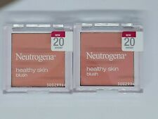 Neutrogena Healthy Skin Blush Lot of Two No. 20 Vibrant Colors Peachy Pink FS