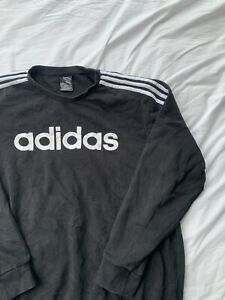 Adidas Spell Out Sweatshirt Good Condition XL
