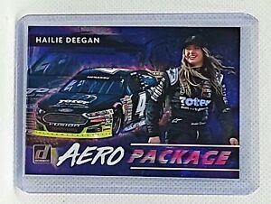 2021 Donruss Racing Aero Package #AERO15 Hailie Deegan