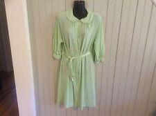 Vintage Green Gossard small Robe