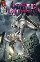 White Widow #4 Dominic Glover Vantage Variant Kickstarter Cover Edition !!!  NM