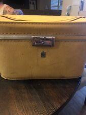Vintage US Luggage 14 X 9 X 10 Yellow
