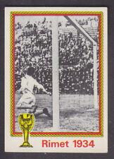 Panini - Munchen 74 World Cup - # 21 Rimet 1934