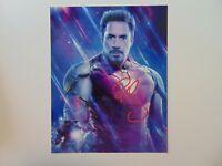 """Iron Man"" Robert Downey Jr Hand Signed 8X10 Color Photo Todd Mueller COA"