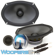 "ALPINE S-S69C 6""X9"" CAR AUDIO STEREO 260W COMPONENT SILK TWEETERS SPEAKERS NEW"