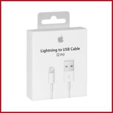 Cable 2 mètres Apple Original pour iPhone 5 6 6S 7 8 X Xs Xs MAX Xr & autres