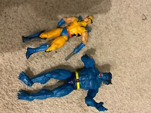 X -Men figures Wolverine and Beast