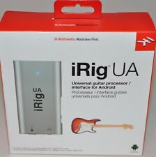 IK Multimedia iRig UA universal guitar effects processor and interface for An...