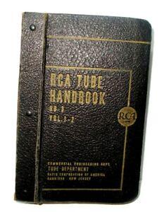 Vintage 1943 RCA Tube Handbooks Vols. 1,2,3,4
