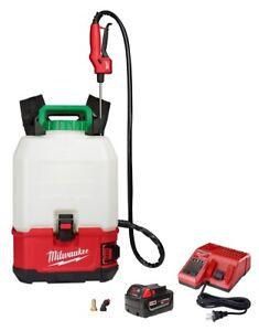 NEW Milwaukee 2820-21PS M18 SWITCH TANK 4-Gallon Backpack Sprayer Kit New