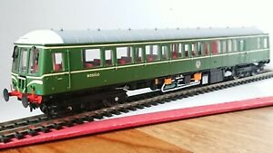 Dapol OO Gauge 4D-015-002D Class 122 Bubble Car W55000 BR Green DCC FITTED