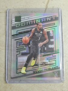 2020-21 Clearly Donruss Kevin Durant Green Dominant Insert SSP /25! Acetate 🔥🔥
