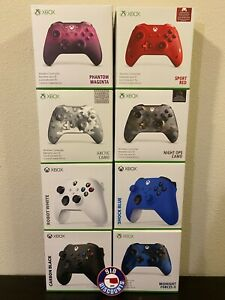 New/Sealed - Microsoft XBOX ONE & SERIES X|S Wireless Controller Various Colors