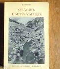 MAROC Atlas CEUX DES HAUTES VALLÉES par René Euloge