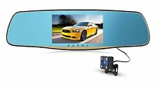 Dual Lens Car Camera, 1080P HD, Rear View Mirror, Car Video Recorder DVR Dash...