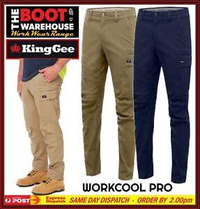 KingGee Workcool Pro Pants K13026 - 'STRETCH RIPSTOP COTTON' - Multi Pockets.