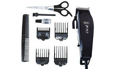 WAHL 100 SERIES 10 PIECE CORDED HAIR MAINS CLIPPER TRIMMER CUTTING KIT 79233-017