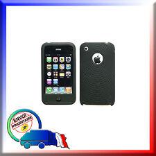 COQUE NOIR SILICONE IPHONE 3G - 3GS